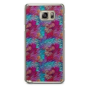 Hairs Samsung Note 5 Transparent Edge Case - Design 21