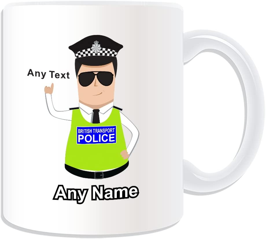 Personalised Mug British Transport Police