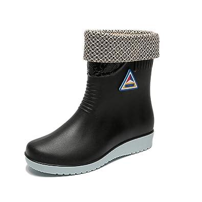 ba749ddd9609b3 [イグル] レインブーツ ロング丈 レインシューズ 雨靴 ブーツ ガーデニングレインブーツ レディース 女性
