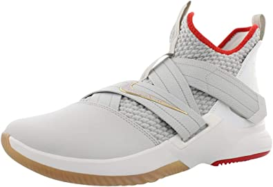 NIKE Mens Zoom Lebron Soldier XII Basketball Shoes (10.5-M)
