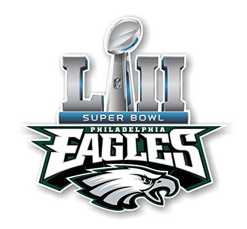 - Workmas Sticker Philadelphia Eagles Champions Super Bowl 52 Die Cut Premium Vinyl Decal, 6