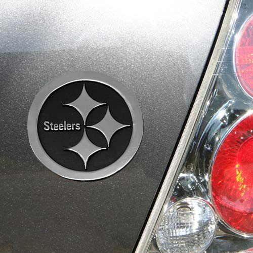 NFL Pittsburgh Steelers Premium Metal Emblem