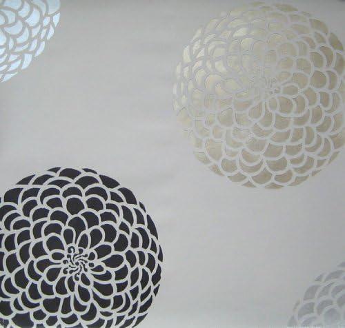 Flower Stencil Zinnia Grande size XSM Reusable wall stencils better than wall decals