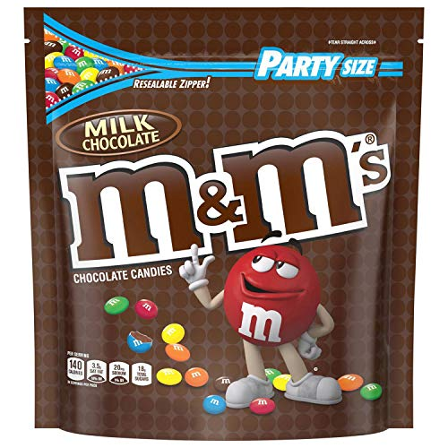 MampM#039S Milk Chocolate Candy Party Size 42 Ounce Bag