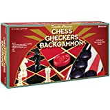 PRESSMAN TOY Chess/Checkers/Backgammon Set