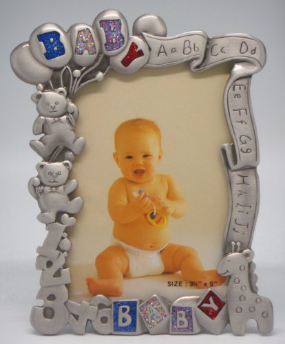 Finish Pewter Frame Baby (3½