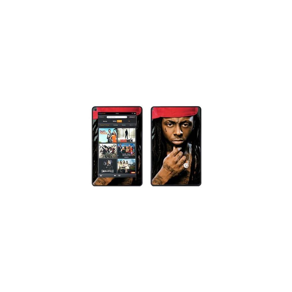 SkinGizmos Lil Wayne Vinyl Adhesive Decal Skin for Kindle Fire