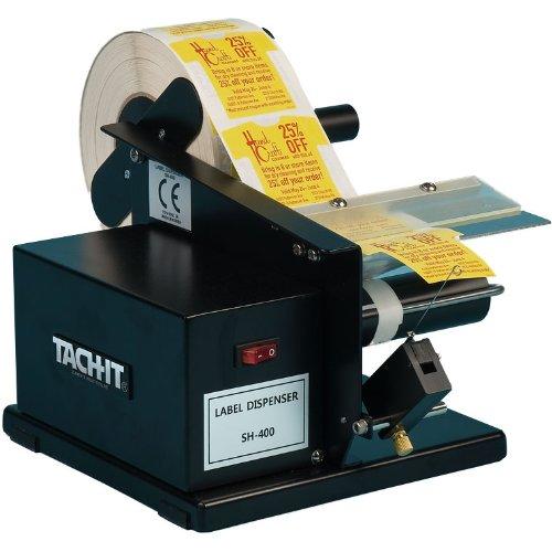 Automatic Label Applicator ~ Tach it sh economical semi automatic label dispenser