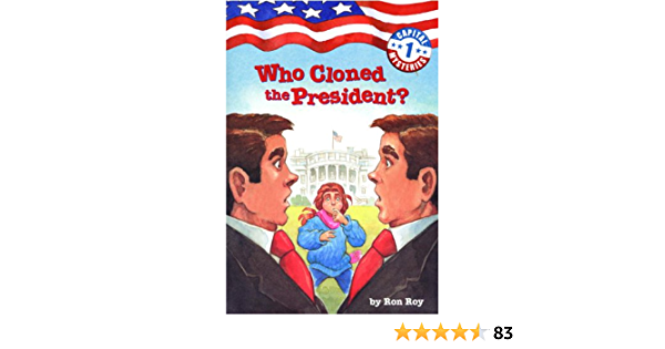 Capital Mysteries #1: Who Cloned the President? (English Edition)