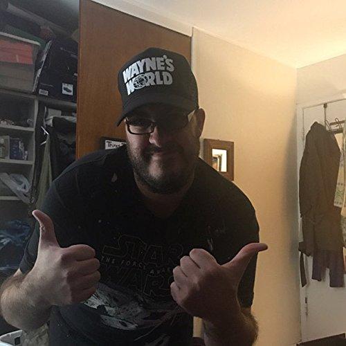 ThatsRad Wayne s World Costume Halloween Mesh Trucker Hat Cap Snapback  Waynes a9ed29f9bb4d