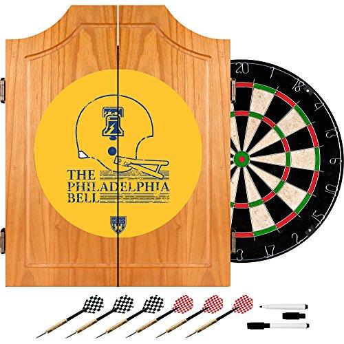 VAF Philadelphia Bell Wood Dart Cabinet Set by VAF