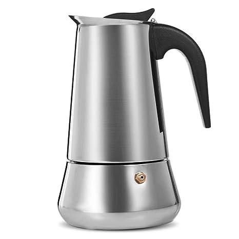 Homie Cafetera Moka de Acero Inoxidable de 450 ml, cafetera de ...