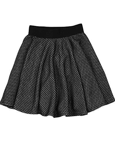 Deux Par Deux Girls Skirt - Deux par Deux Girls' Skirt Black and White, Sizes 6-12 - 10
