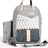 Gadikat Diaper Bag - Dani Backpack, Huge Diaper Changing Pad & Stroller/Shoulder Straps Included