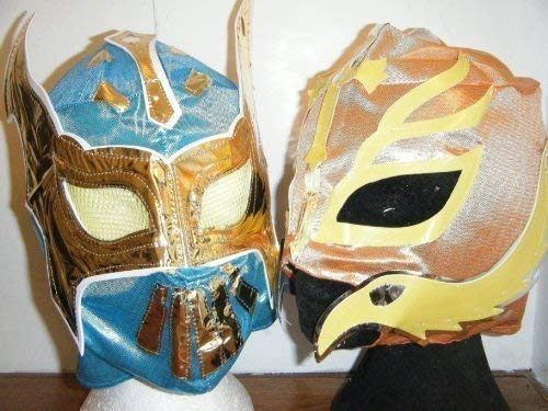 ASHLEYS Rey Mysterio And Sin Cara Mask Pack 2 Masks -