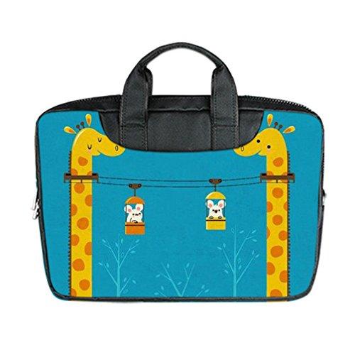 JIUDUIDODO Personalize Best Gifts Giraffe Nylon Waterproof B