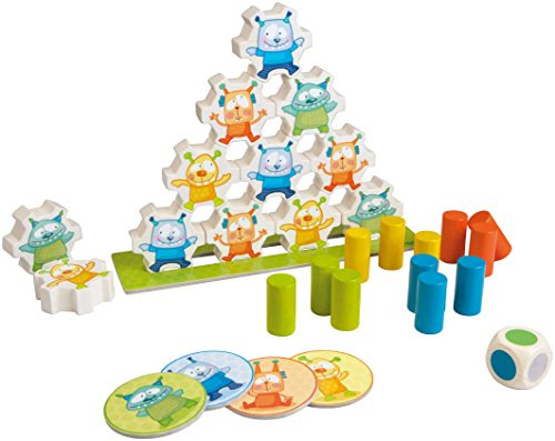 HABA Monsters Wooden Stacking Germany