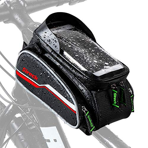 Sireck Water Resistant Bike Bag, Touchscreen 6