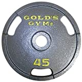 Gold's Gym Grip Plate (45 Lbs., Set of 2)