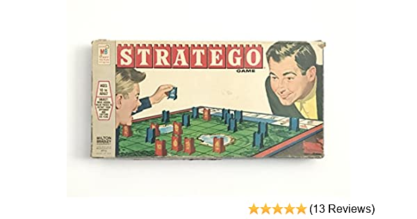 Vintage 1961 Stratego BLUE Scouts Piece Classic Board Game Replacement