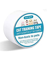I-pure items Cat Scratch Deterrent Tape - Anti-Scratch Cat Training Tape - 3 inches x 30 Yards Double Sided Carpet Protector Pet Tape for Carpet, Furniture, Couch, Door