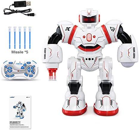 RCロボットキットCADYウィルセンサーコントロールインテリジェントコンバットダンスジェスチャロボットおもちゃ子供向け誕生日プレゼント(2020アップグレード)
