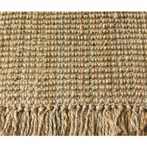 Chic New Handmade Eco Natural Fiber Chunky Loop Jute Rug (4' x 6') Beige Carpet Mat Long Lasting Use Indoor Home Living Room Bedroom