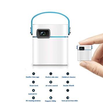 LFDD Mini proyector, portátil 3000 lúmenes LED proyector, soporta ...