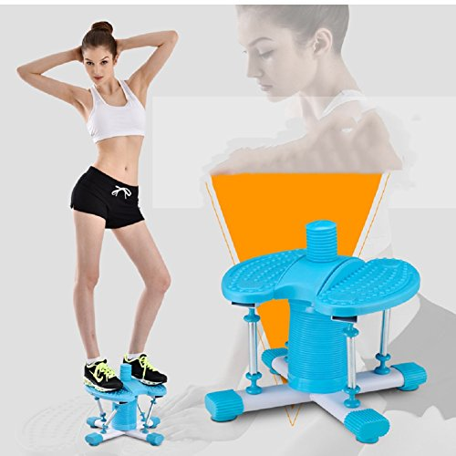 Stepper machine slim twist waist dancing double spring household use movement body twisted waist-A