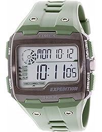 Timex Men's Expedition TW4B02600 Green Rubber Quartz Watch