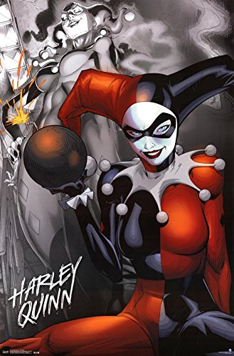Harley Quinn - The Bomb Poster 22 x 34in -