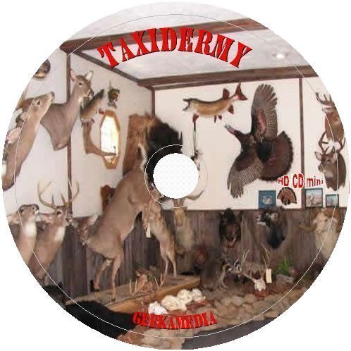 Photo Guide Ring Set - Learn Real Taxidermy Craft at home: Stuff Mount Preserve A107