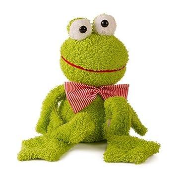 Plüschtier  Stofftier  Figur  Frosch  Tasche  Aufbewahrung  Kiste