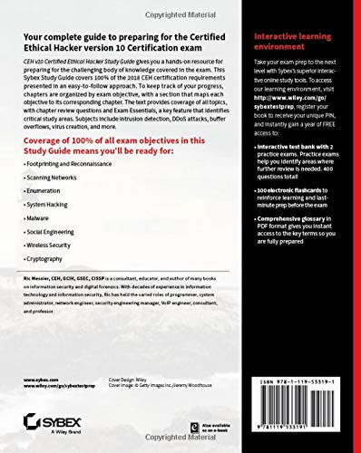 Buy CEH v10 Certified Ethical Hacker Study Guide Book Online at Low