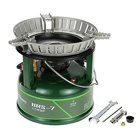 Amazon.com: BRS 7 estufa de aceite de acampada para picnic ...