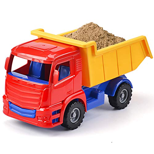 Mini Dumper Car Toy Inertia Toy Early Engineering Vehicles Friction Powered Kids Dumper Toys for Children Kids Boys and Girls, Set of 3 Years Old Mini Car Toy For Kids Toddlers (Mini Dump truck)