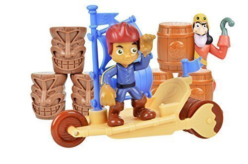 Disney Jake & The Neverland Pirates Sailwagon Value Bundle, Includes Both Jake's Sailwagon and Hook's (Jake And The Neverland Pirates Outfit)