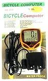 Okayji 15 Function Bicycle Computer Odometer Speedometer Digital LCD Bike Meter Waterproof