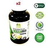 Graviola Fruit Powder Pure Herb Capsules 180 x 1000mg