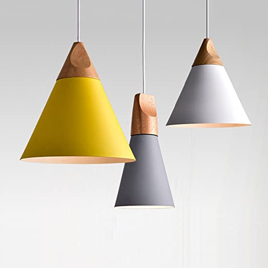 Lampadari A Sospensione Tre Luci.Lampadario Lampada A Sospensione In Legno E Metallo Lampade A Sospensione Industriale Deco Lampada Lampadario A 3 Luci Di Illuminazione Lampada