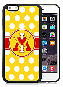 Hot Sale iPhone 6 Cover Case Big South Conference VMI Keydets 7 Protective Cell Phone Hardshell Cover Case For iPhone 6 4.7 Inch TPU Black Unique And Durable Designed Phone Case