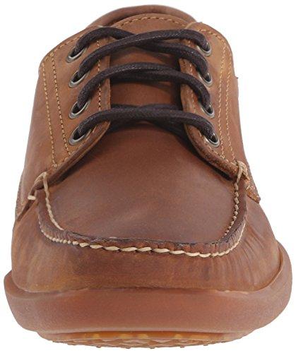 Timberland  Odelay 4 Eye Camp, Chaussures bateau pour homme Red Brn Taglia scarpa - marron - marron, 42 EU EU