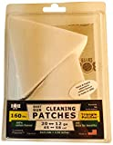 BoreSmith Triangle Patches, Shotgun, Premium Gun Cleaning Patches, clamshell