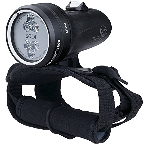 Light & Motion SOLA Dive 1200 Spot Underwater Light by Light and Motion