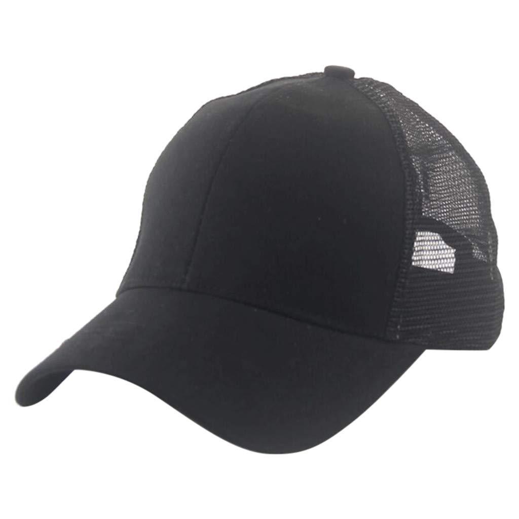CapsA Adjustable Baseball Dad Cap Solid Visor Caps Perfect for Running Workouts Outdoor Activities