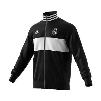 adidas Chaqueta Real Madrid 3S 2018-2019 Black-Core White: Amazon.es: Deportes y aire libre