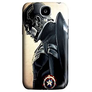 S4 case ,Samsung Galaxy S4 case ,fashion durable 3D design for Samsung Galaxy S4,PC material phone cover ,Designed Specially Pattern with Captain America The Winter Soldier fan artwork.