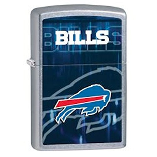 Zippo NFL Buffalo Bills Street Chrome Pocket Lighter