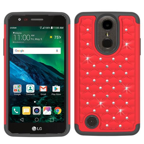 new concept 11c23 517dc Amazon.com: Phone Case for Straight Talk LG Rebel 2 4G LTE Prepaid ...