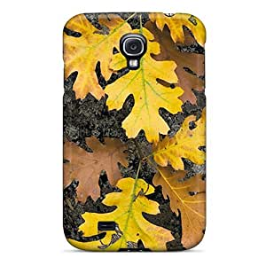 KGAOt3551sxsPp NikRun Autumn Leaves Durable Galaxy S4 Tpu Flexible Soft Case